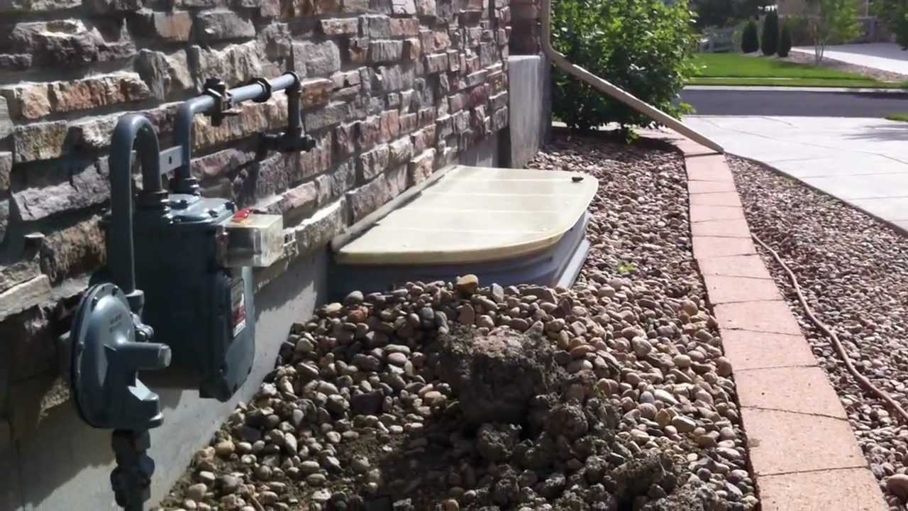 Installing gas lines Broomfield landscape contractor - YouTube