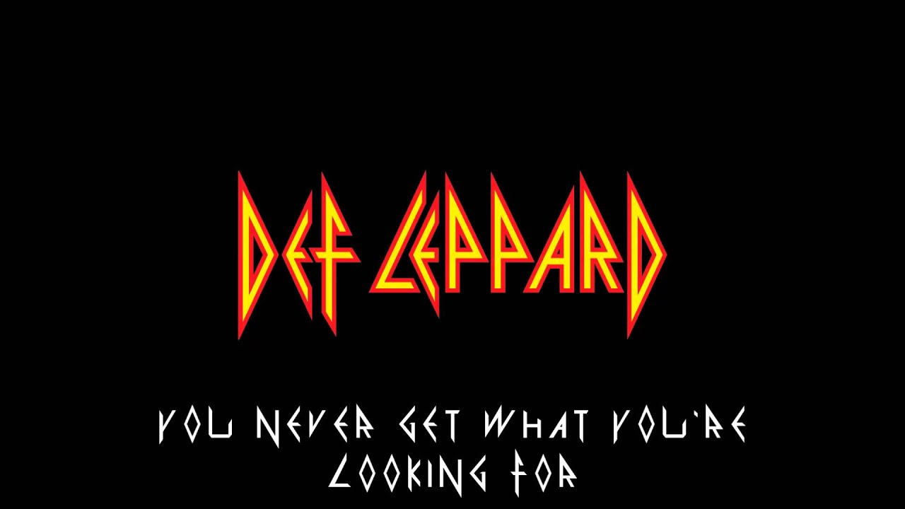 Lyrics by def leppard