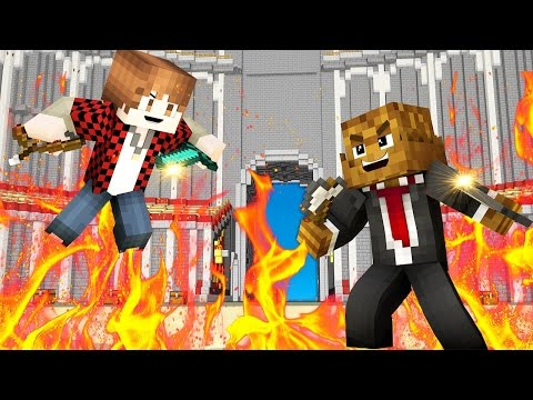 Minecraft: HUNGER GAMES with Mitch & Jerome! [THE FRIDGE!]