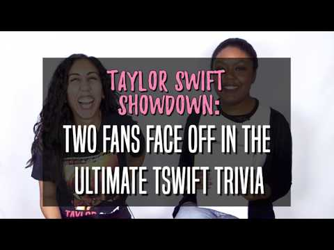Taylor Swift Showdown: Two Fans Face Off in the Ultimate TSwift Trivia