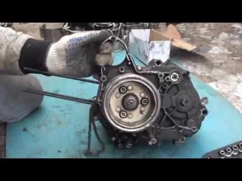 Ремонт Alpha #1, Разборка двигателя.