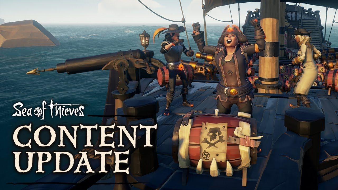 Official Sea of Thieves Content Update: Black Powder Stashes