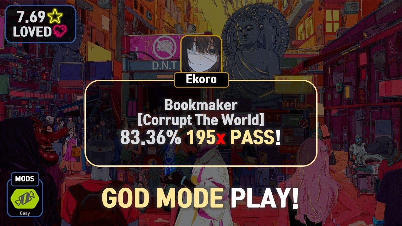 Download Ekoro   Kobaryo - Bookmaker [Corrupt The World] 83.36%   2nd EZ 195❌ PASS!