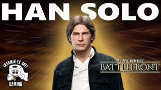 "Star Wars Battlefront Han Solo ""Lucky Shot Hidden Ability"" 