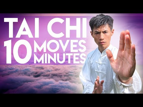 10 Simple Tai Chi Exercises In 10 Minutes - Daily Tai Chi For Beginners