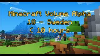 C418 - Sweden ( Minecraft Volume Alpha 18 ) ( Calm 3 ) ( 10 hours )