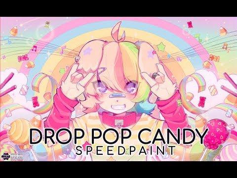 """""""drop POP! Candy""""   Speedpaint ▶ OC: Zendo"""