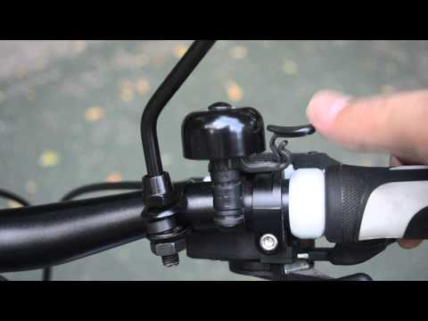 Loud Ping Tour Vélo Bell Easy attacher Lisse Vélo Cycle Guidon Ringer