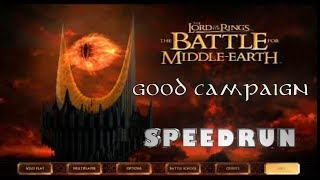 The Lord of the Rings: The Battle for Middle-earth (Good, Easy) WR Speedrun 1:58:52