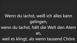 Helene Fischer - Wenn du lachst (Lyrics/Songtext)