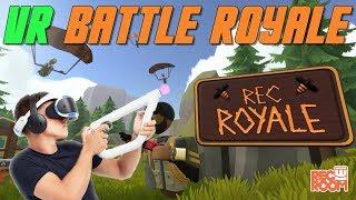 VR Battle Royale Is AMAZING | Rec Room on PSVR