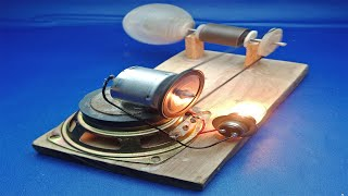 New Technology 2019 Free Energy Generator By Motor With Magnet Self Running At home