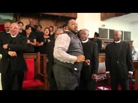 Marvin Sapp preach at Unity Temple Last Saturday