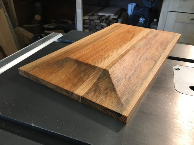 Making raised panel on the table saw (another)! #1
