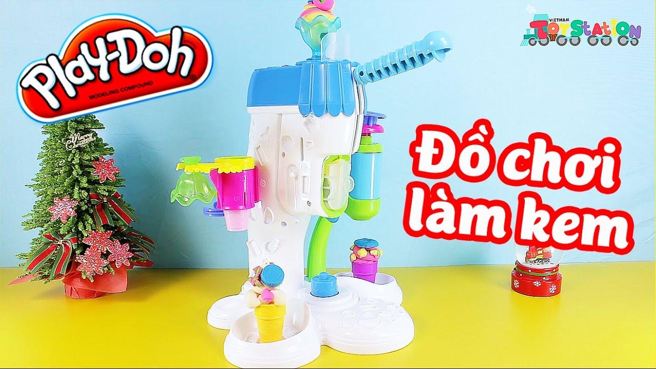 Play Doh Perfect Twist Ice cream Bộ đồ chơi làm kem khổng lồ  – ToyStation 17