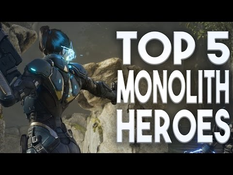 Paragon Top 5 Heroes For Monolith