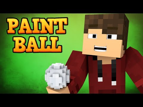 Minecraft Games - PAINTBALL