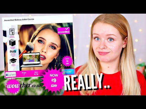 I PAID £9 FOR A 'MAKEUP ARTIST' COURSE.. THIS IS WHAT HAPPENED | sophdoesnails