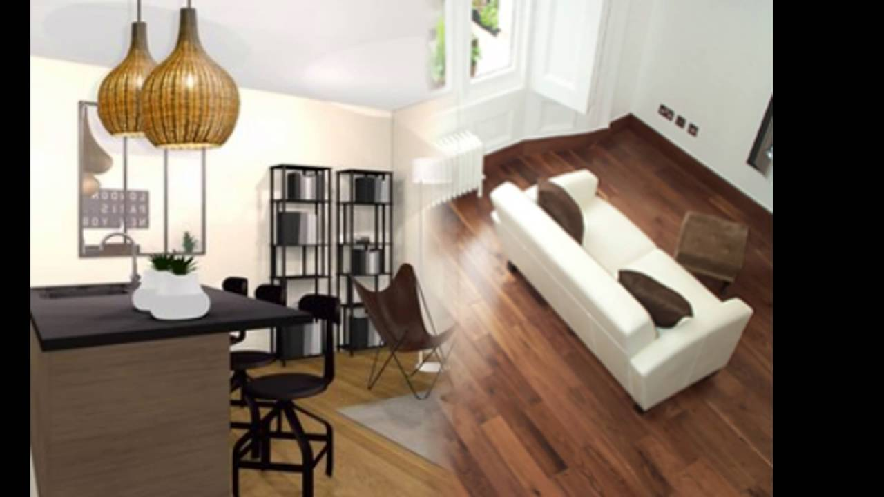 am nager salon salle manger youtube. Black Bedroom Furniture Sets. Home Design Ideas