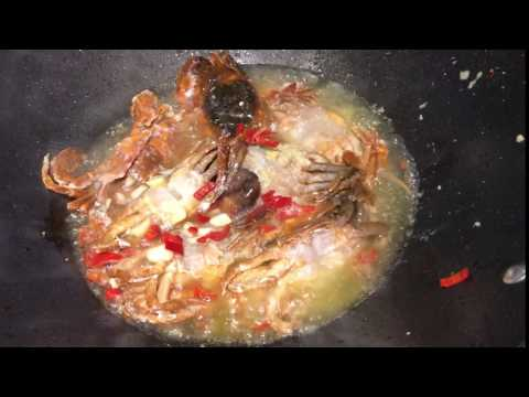 Sizzling Soft-shell Crab
