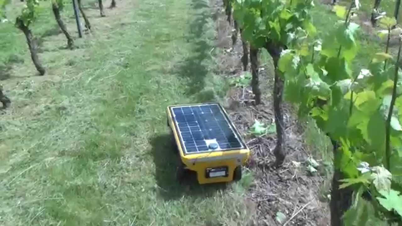 Le robot de tonte vitirover youtube for Robot de tonte husqvarna