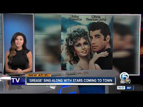 Nick Wize - Grease Stars John Travolta & Olivia Newton-John Reunite In Tampa