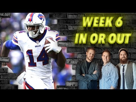 Week 6 In or Out - The Fantasy Footballers