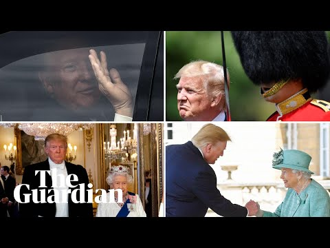 Trump in the UK: day one in three minutes