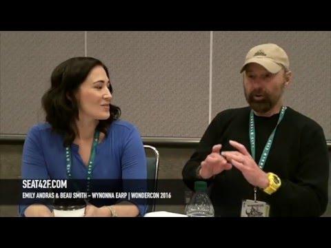 Emily Andras & Beau Smith Wynonna Earp WonderCon 2016 Interview