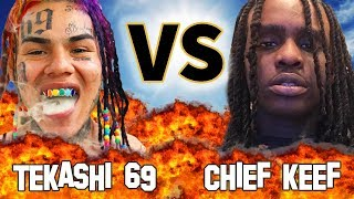 TEKASHI 6IX9INE Vs. CHIEF KEEF | Before They Were Famous VERSUS
