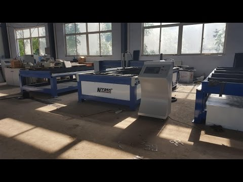 plasma cutting machine with USA hypertherm power max 45 A from china KRRASS