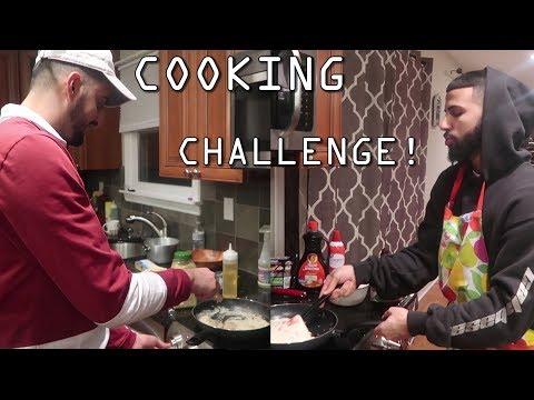 COOKING CHALLENGE! SLIM ALBAHER VS ADAM SALEH PART 2