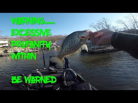 CAUTION NSFW | Uncensored Crappie Fishing | Lake Of The Ozarks