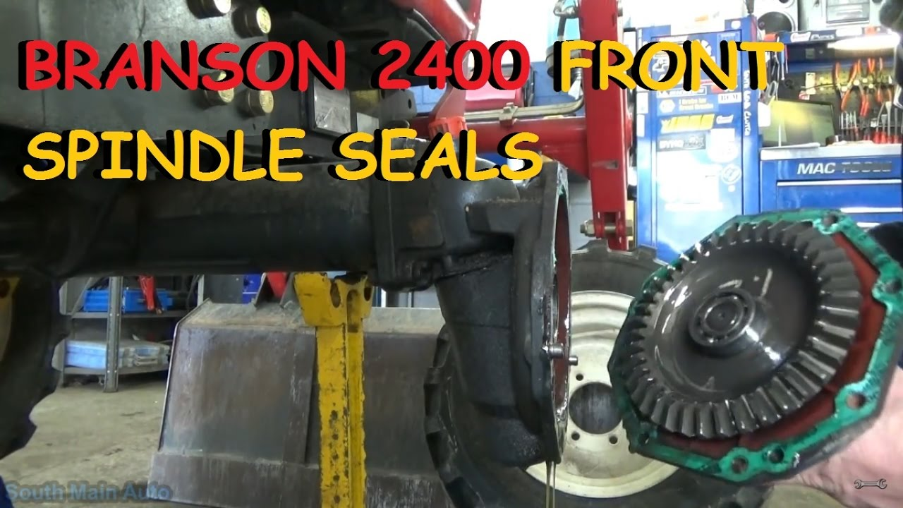 4x4 Branson 2400 Tractor - Front Spindle Seals