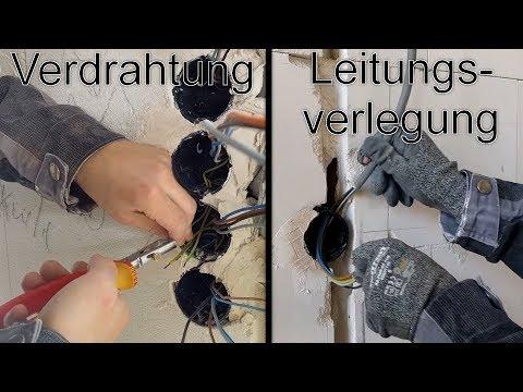 Abzweigdose installieren und verdrahten