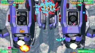 Mars Matrix Co op Arcade Playthrough Longplay