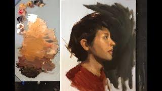 Expressive Portrait Painting   Mind and Spirit