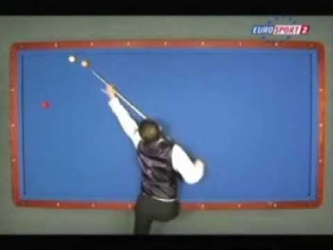 Torbjorn Blomdalh - Dani Sanchez - World Cup 3 Cushion Billiard Alcala Guadaira 2008