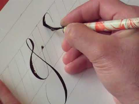 How to write punctuation marks in copperplate youtube