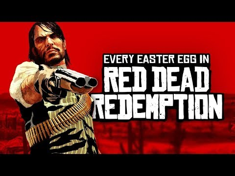 RED DEAD REDEMPTION: Every Easter Egg and Secret