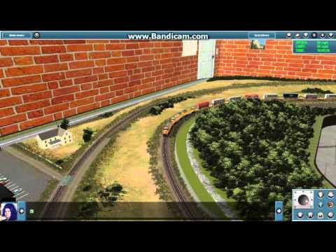 Trainz 12 The Loop Model Railroadz Route 01 UP Stacktrain |