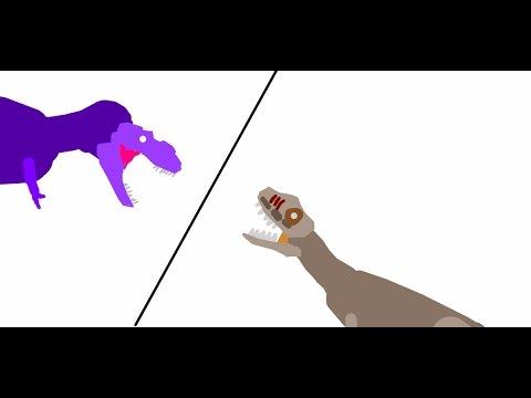 BRS3 Rugops vs Albertosaurus