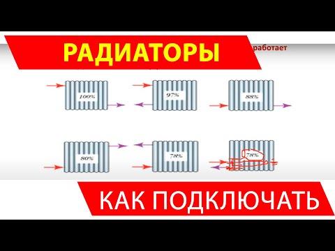 Как подключить радиатор отопления с наибольшей эффективностью
