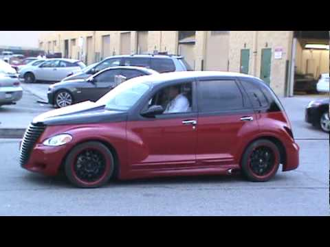 nicks pt cruiser new paint havin some fun youtube. Black Bedroom Furniture Sets. Home Design Ideas