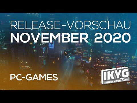 Games-Release-Vorschau - November 2020 - PC