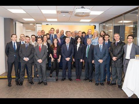 El lehendakari Iñigo Urkullu inaugura las instalaciones de GES-Global Energy Services