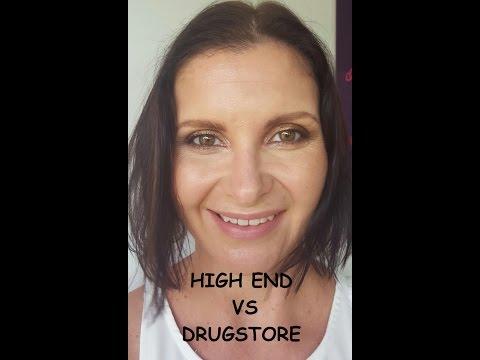 High End -vs- Drugstore Makeup Tutorial || KATE THOMPSON