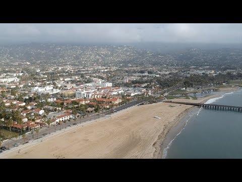 Santa Barbara Harbor January 19 2018 HD Drone