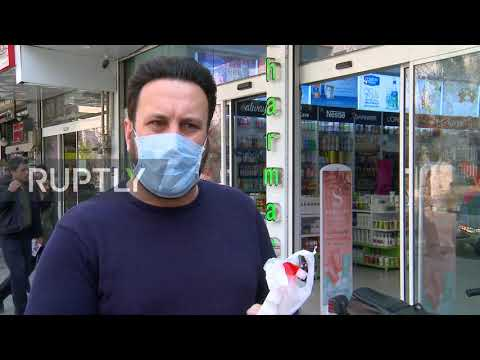Iran: Tehran locals implement sanitation measures amid coronavirus outbreak