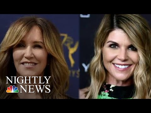 College Adm. Scandal: Loughlin And Felicity Huffman Expected In Court Wednesday | NBC Nightly News